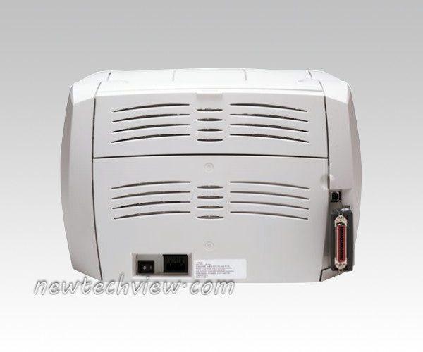 HP laserjet 1300 back